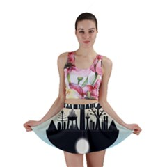 Future City Mini Skirt
