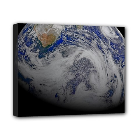 A Sky View Of Earth Canvas 10  X 8