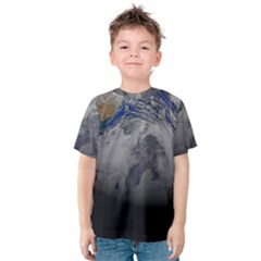 A Sky View Of Earth Kids  Cotton Tee