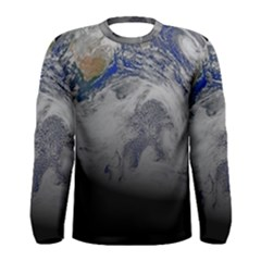 A Sky View Of Earth Men s Long Sleeve Tee