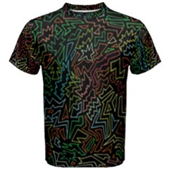 Zigs And Zags Men s Cotton Tee