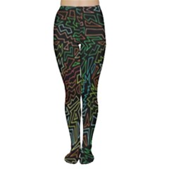 Zigs And Zags Women s Tights