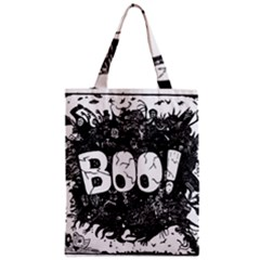 Monster Art Boo! Boo2 Zipper Classic Tote Bag