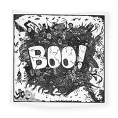 Monster Art Boo! Boo2 Square Tapestry (large)