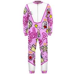 Pink Angel Star Onepiece Jumpsuit (men)