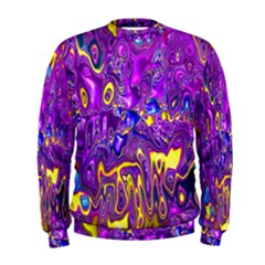 Melted Fractal 1a Men s Sweatshirt