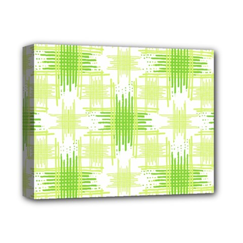 Intersecting Lines Pattern Deluxe Canvas 14  X 11