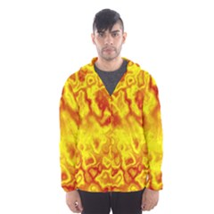 Pattern Hooded Wind Breaker (men)