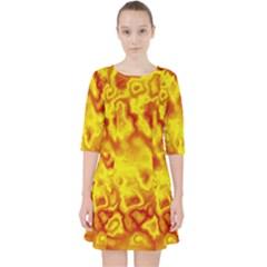 Pattern Pocket Dress
