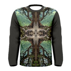 Crossing The Edge Men s Long Sleeve Tee