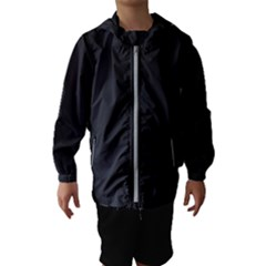 Simulated Black Carbon Fiber Steel Hooded Wind Breaker (kids)