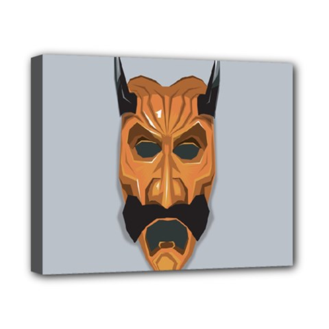 Mask India South Culture Canvas 10  X 8