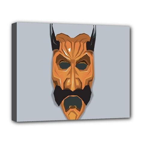 Mask India South Culture Deluxe Canvas 20  X 16