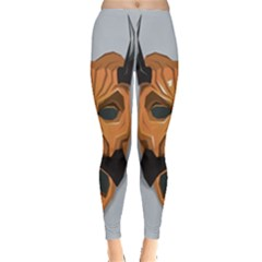 Mask India South Culture Leggings