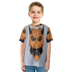 Mask India South Culture Kids  Sport Mesh Tee
