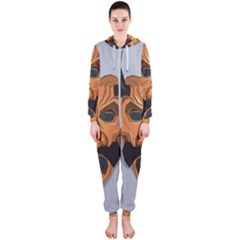 Mask India South Culture Hooded Jumpsuit (ladies)