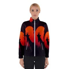Giraffe Animal Africa Sunset Winterwear