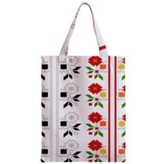 Bulgarian Folk Art Folk Art Zipper Classic Tote Bag