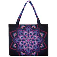 Mandala Circular Pattern Mini Tote Bag