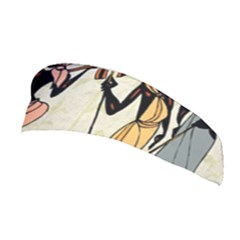 Man Ethic African People Collage Stretchable Headband