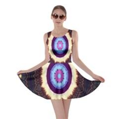 Mandala Art Design Pattern Skater Dress