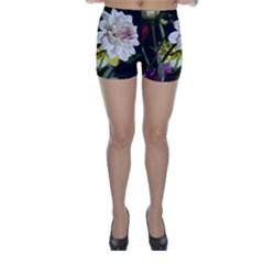Dahlias Dahlia Dahlia Garden Skinny Shorts