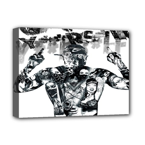 Black Music Urban Swag Hip Hop Deluxe Canvas 16  X 12