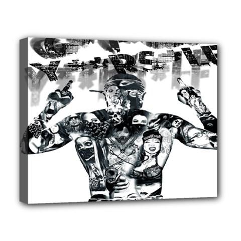 Black Music Urban Swag Hip Hop Deluxe Canvas 20  X 16