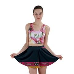 Pattern Ornaments Africa Safari Mini Skirt
