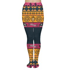 Pattern Ornaments Africa Safari Women s Tights