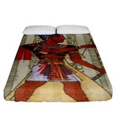 Egyptian Design Man Royal Fitted Sheet (king Size)