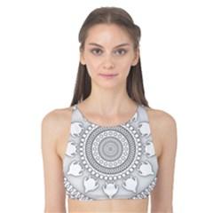 Mandala Ethnic Pattern Tank Bikini Top