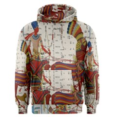 Egyptian Tutunkhamun Pharaoh Design Men s Pullover Hoodie