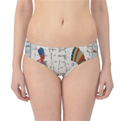 Egyptian Tutunkhamun Pharaoh Design Hipster Bikini Bottoms