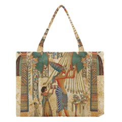 Egyptian Man Sun God Ra Amun Medium Tote Bag
