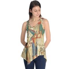 Egyptian Man Sun God Ra Amun Sleeveless Tunic