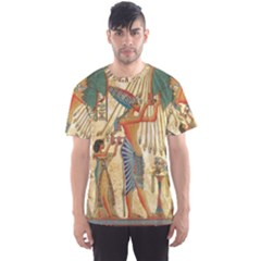 Egyptian Man Sun God Ra Amun Men s Sports Mesh Tee
