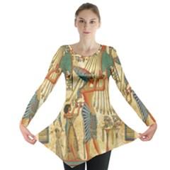 Egyptian Man Sun God Ra Amun Long Sleeve Tunic