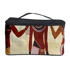 Egyptian Design Man Woman Priest Cosmetic Storage Case