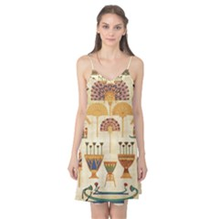 Egyptian Paper Papyrus Hieroglyphs Camis Nightgown
