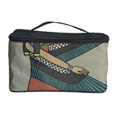 Egyptian Woman Wings Design Cosmetic Storage Case
