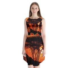 Africa Safari Summer Sun Nature Sleeveless Chiffon Dress