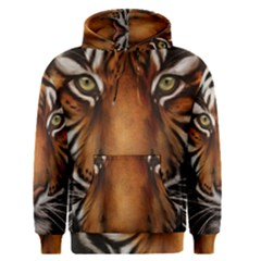 The Tiger Face Men s Pullover Hoodie