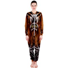 The Tiger Face Onepiece Jumpsuit (ladies)