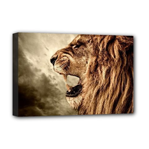 Roaring Lion Deluxe Canvas 18  X 12