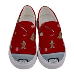 Hilarious Holidays  Women s Canvas Slip Ons