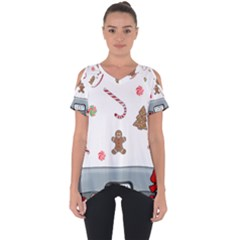 Hilarious Holidays  Cut Out Side Drop Tee