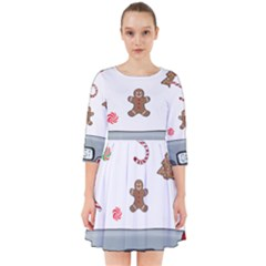 Hilarious Holidays  Smock Dress