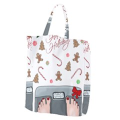 Hilarious Holidays  Giant Grocery Zipper Tote