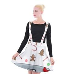 Hilarious Holidays  Suspender Skater Skirt